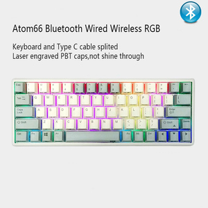 Image 1 - RGB Plum 66 75 84 87 108 Bluetooth 4.0 USB Dual Mode 35g Realforce Structure Capacitive Keyboard Free shipping