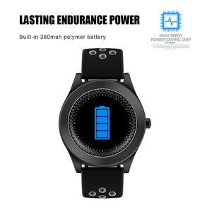 Image 2 - TF8 Smart Watch Fitness Tracker Bluetooth Sport Smartwatch Fashion Round Touch Screen Smartwatch Support Sim Memory Card