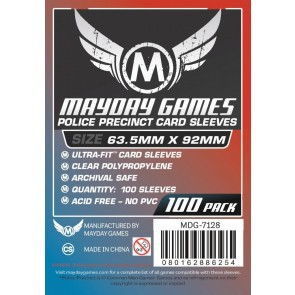 2 Packs/lot Mayday Card Sleeve for 63.5*92mm Card Game Protector 100 Sleeves/Pack Board Game Sleeve 7128