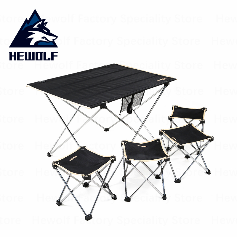 Tremendous Hewolf Outdoor Tablefoldable Portable Camping Tables Ultralight High Quality Picnic Equipment Table And Chairs Alphanode Cool Chair Designs And Ideas Alphanodeonline