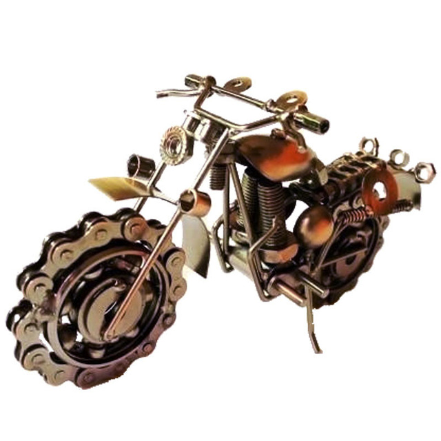 Motorcycle Davidson Models Oversized Iron Metal Crafts Creative Gift Ideas  Home Decoration