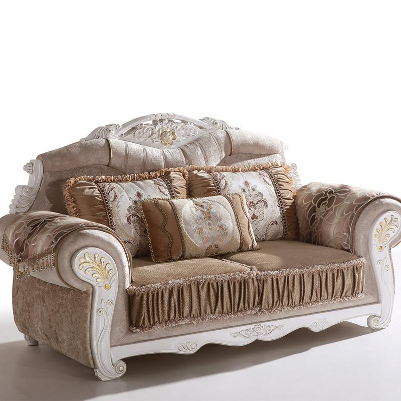 Perfect 7 Pcs Of 1 Set Antique Design Fabric Home Sofa Living Room Furniture Sofa (1