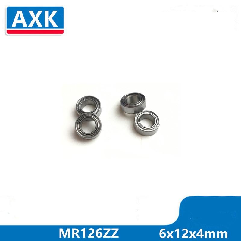 10pcs//lot MR126ZZ 6X12X4mm miniature deep groove Ball Bearings MR126 L-1260ZZ