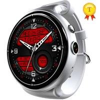 Новые 3g + gps + WiFi MTK6580 Смарт часы 2 ГБ + 16 ГБ 400 мАч батареи Smartwatch вызова whatsapp напоминание Носимых устройств для телефона я x