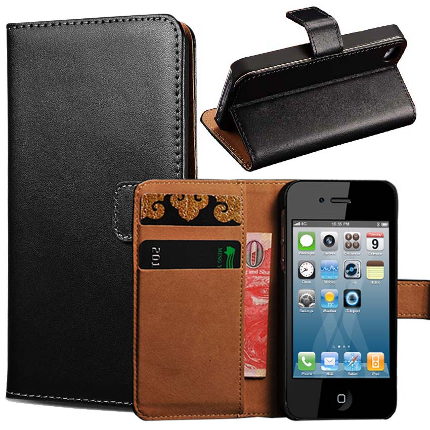 Aliexpress.com : Buy 4S Genuine Leather Wallet Stand Case
