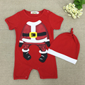 Short Sleeve Baby Bodysuits Baby Girl Cute Clothes Xmas Baby Bodysuit/Jumpersuit Christmas  Jumpsuits Kids Clothes Baby Clothing
