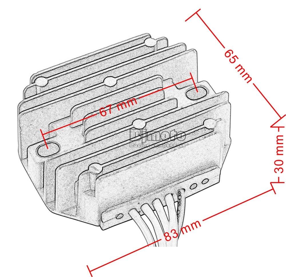Ktm 640 Lc4 Supermoto Wiring Diagram Libraries 1190 Adventure R Bjmoto Motorcycle Metal 12v Regulator Rectifier For 400 Duke 620for