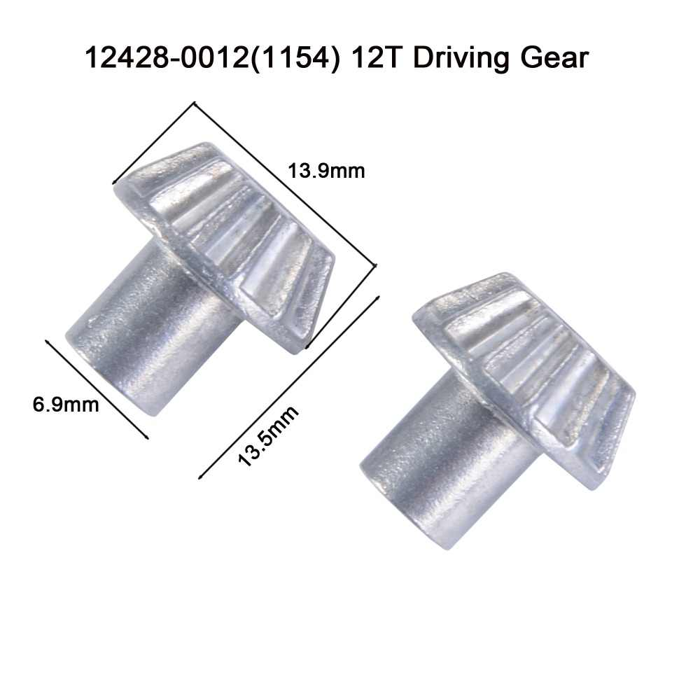 Wltoy 12428 12423 RC Car Spare parts Driving Gear 12428-0012 12T Driving Gear Upgrade Parts 12429-1154 drive gear wheel
