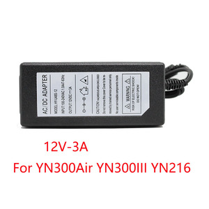 Image 3 - 100 240V AC power adapter for Monit Yongnuo YN300AIR YN300III YN360 YN600AIR YN600L YN608 YN900 Godox Viltrox LED Lamp Switching