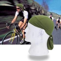Wosawe الطلق للدراجات كاب سريعة جاف نظيف شال عقال رئيس وشاح الرجال تشغيل قبعة ركوب باندانا ciclismo النساء الرجال هود قبعات