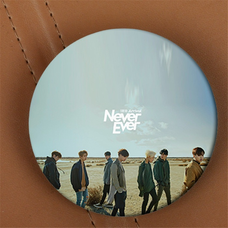 Youpop KPOP GOT7 Never Ever Album Fashion Brooch Pin Badge Accessories For Clothes Hat Backpack Decoration Men And Women XZ0575 image