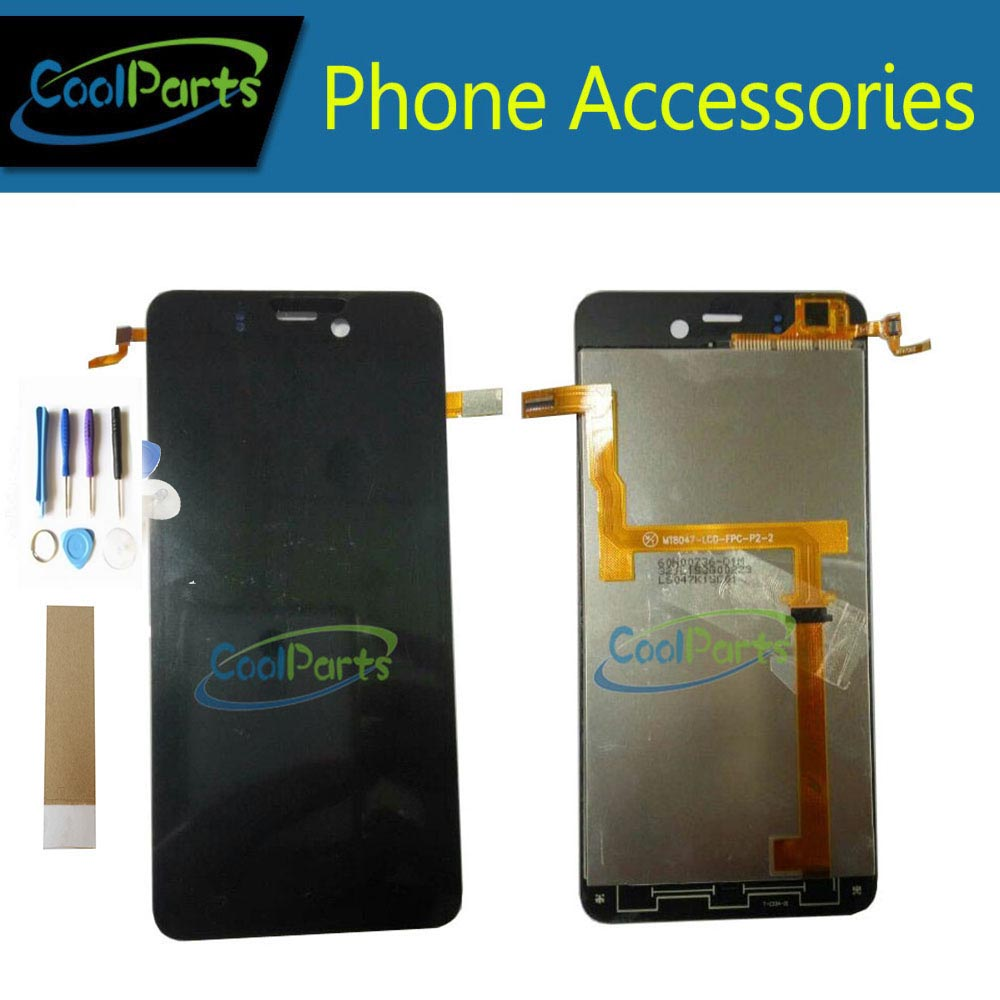 1PC/Lot High Quality For Highscreen Ice Highscreen Alpha Ice LCD Display+Touch Screen Digitizer Assembly Black Color+Tape&Tool 1PC/Lot High Quality For Highscreen Ice Highscreen Alpha Ice LCD Display+Touch Screen Digitizer Assembly Black Color+Tape&Tool