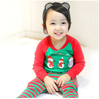 Children Boys Girls Baby Rompers Winter Red Climbing Clothes Warm Romper Knitted Green Christmas Deer Hooded