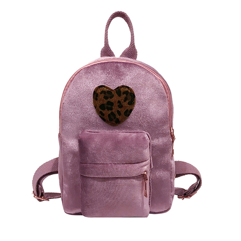 AOTIAN Women Simple Literature Small Backpack College Style Solid Color Corduroy Backpack Students pack Bag Travel Back Bag A30