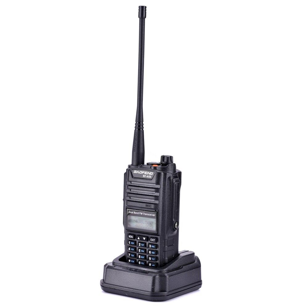 Image 4 - 2pcs Original Baofeng IP67 BF A58 Marine Waterproof Walkie Talkie Dual Band Woki Toki Two Way Radio Amador UV 9R Hf Transceiver-in Walkie Talkie from Cellphones & Telecommunications