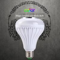 Magic Colorful LED Music LED Light Bulb RGB Bluetooth Speaker Bulb Wireless Music Playing Light Lamp