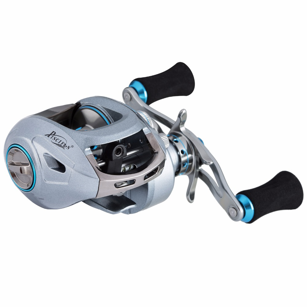 Piscifun Saex Premier Baitcasting Reel 7BB 7.3: 1 179g Right or Left Hand Bait Casting Fishing Reel-in Fishing Reels from Sports & Entertainment    3