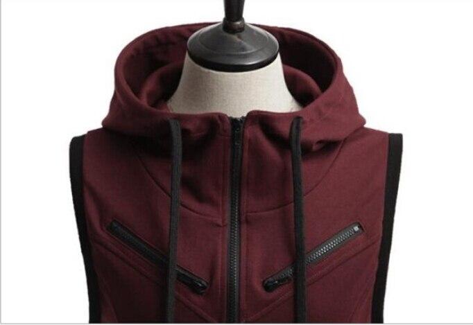 Assassin/'s Creed Sweatshirt Hoodie Jacket Slim Side Zipper Patchwork Men Casual
