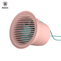 Baseus Portable USB Fan For Desktop PC Laptop Notebook Computer 2 Gear Powered Desk Mini USB