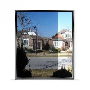 Image 3 - 200*50CM pellicola per vetri impermeabile specchio unidirezionale adesivi per isolamento argento rifiuto UV Privacy pellicola per vetri per la decorazione della casa