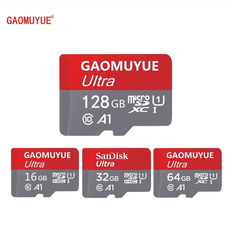 GAOMUYUE3 Hot Selling Memory Card 32GB Class10 Micro Sd Card 16GB TF Card 64GB/128GB Flash Microsd Cards Real Capacity Dpi5