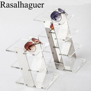 0f716b8f08 Gafas de sol de montura de acrílico con montura en el suelo con soporte  para gafas de sol