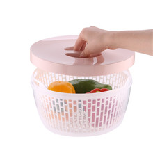 Double Strap cover leachate basket preservation box household refrigerator food storage Box Kitchen plastic Wash