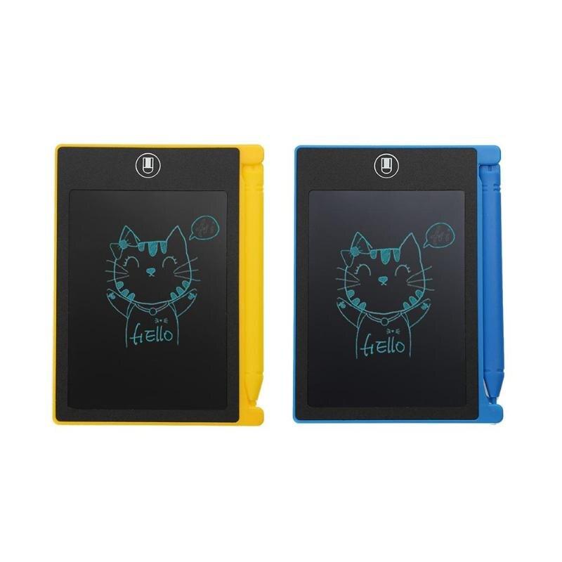 FäHig 4,4 Inch Lcd Schreiben Tablet Digital Graphic Tablet 116*86*5mm Kinder Elektronische Handschrift Zeichnung Pad Notizblock Malen Board Digital Tablets