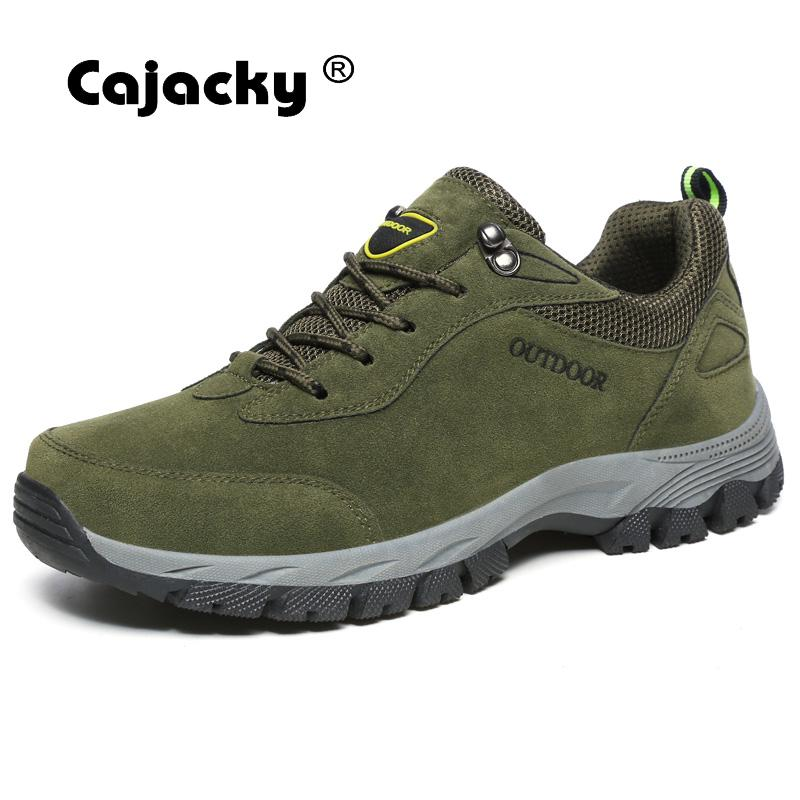 Cajacky Men Casual Shoes Autumn Plus Size 49 48 47 Men Sneakers Fashion Lace Up Men Shoes Durable Trainers Breathable Pu Leather cajacky unisex sneakers 2018 mesh casual shoes men mesh lace up male fly weave krasovki men fashion light breathable trainers