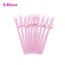 10PCS Drinking Penis Straws Bridal Shower Sexy Hen Night Willy Penis Novelty Nude Straw for Bar Bachelorette Party Adult Game electric turntable novelty drinking game adults bachelorette party supply traditional games for camping hiking accessories