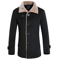 Free Shipping 2015 Autumn And Winter Explosion Models Men S Woolen Jacket Fashion