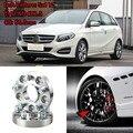 Адаптеры для прокладок на колеса  4 шт.  1 дюйм  5 Луг  5x4 4 дюйма/5x112-14x1.5 шпильки для Benz B Class W245 2009 +