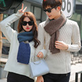 2017 Winter Warm Infinity Cable Knit Cowl Neck Long Men Women Unisex Winter knitting Wool Collar Neck Warmer Couples Scarf Shawl