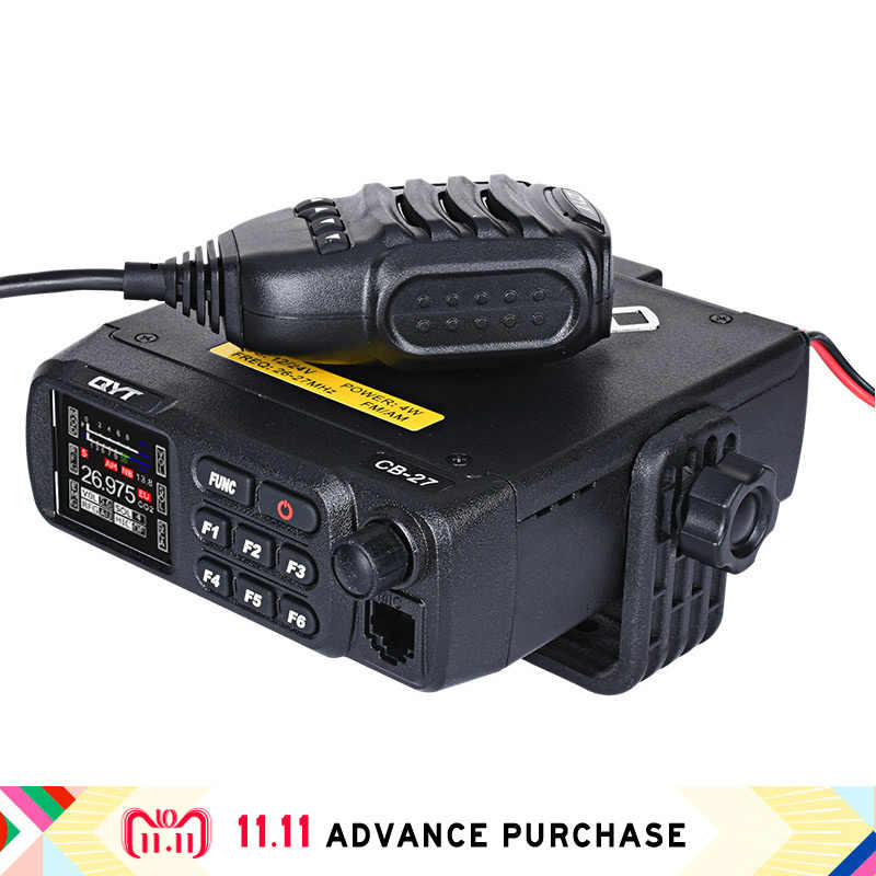QYT CB-27 hf coche radio transceptor comunicador walkie talkie monedero intercomunicador columna walkie-talkie comprar china directa radio sdr