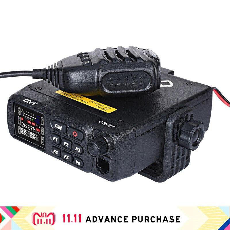 QYT CB-27 hf émetteur-récepteur radio comunicador talkie-walkie sac à main interphone colonne talkie-walkie acheter chine direct ham radio sdr