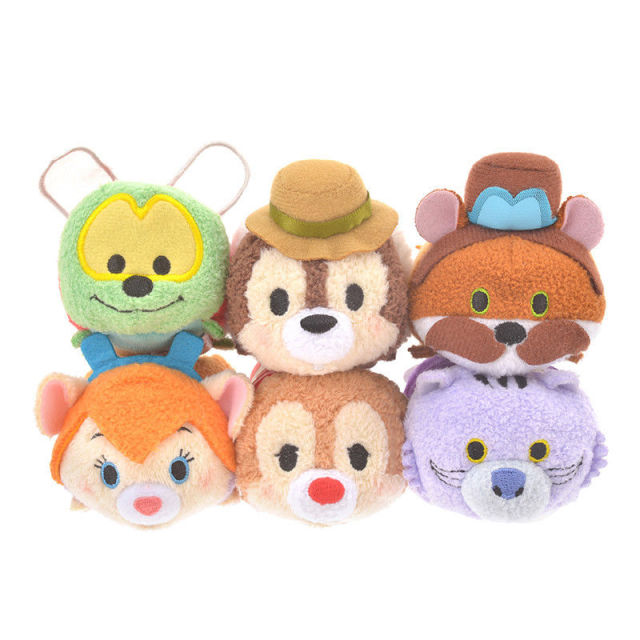 tsum tsum 75th anniversary chip dale rescue rangers plush doll