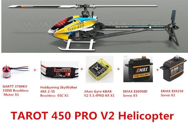 Tarot 450 Advanced Version PRO V2 FBL Helicopter