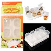 Storage Box New Kids Mini Storage Boxes Set Plastic Kitchen Container Small Food Sauce Aug31 Professional
