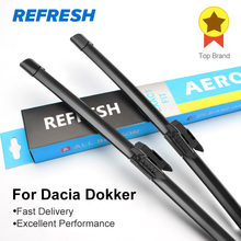 REFRESH Щетки стеклоочистителя для Renault / Dacia Dokker Fit Hook Armms / Pinch Tab Arm 2012 2013