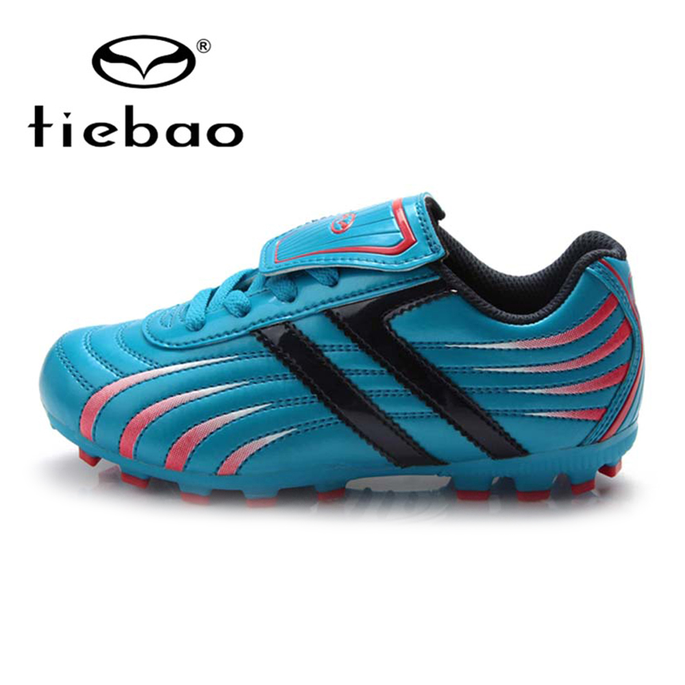 TIEBAO Children Kids Football Shoes FG & HG & AG & S Football Sneakers Boys Soccer Shoes Children Teenager Soccer Shoes Superfly