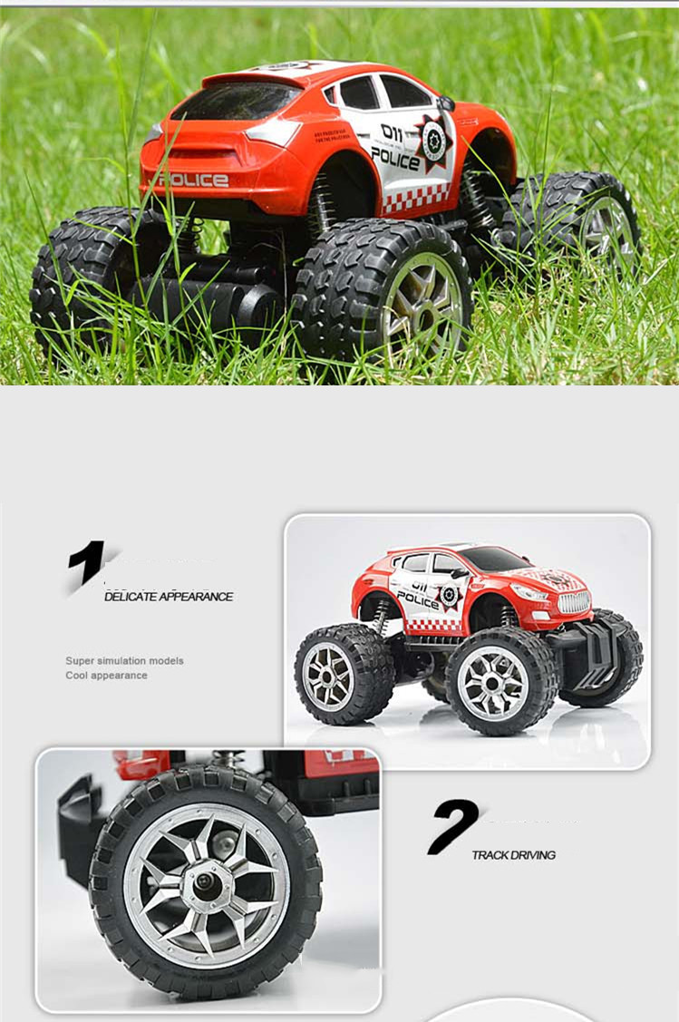 RC Car Bigfoot Doodle Climbing Car Toys 4 Wheel Drive Remote Control Car Structure Sport Utility Vehicle Model Kids Best Gift (10)