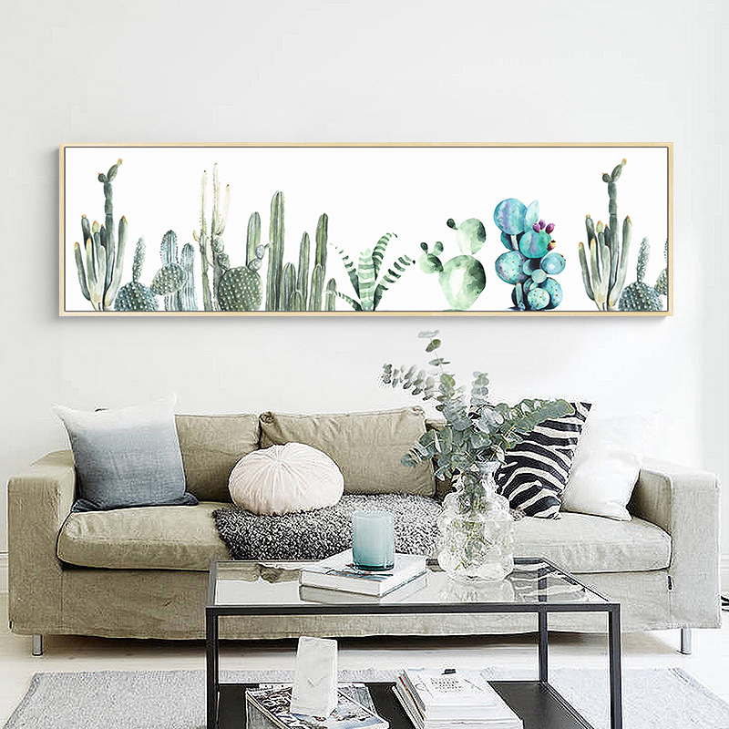 Newbility Nodic Cactus Posters And Prints Forest Spring Decoration