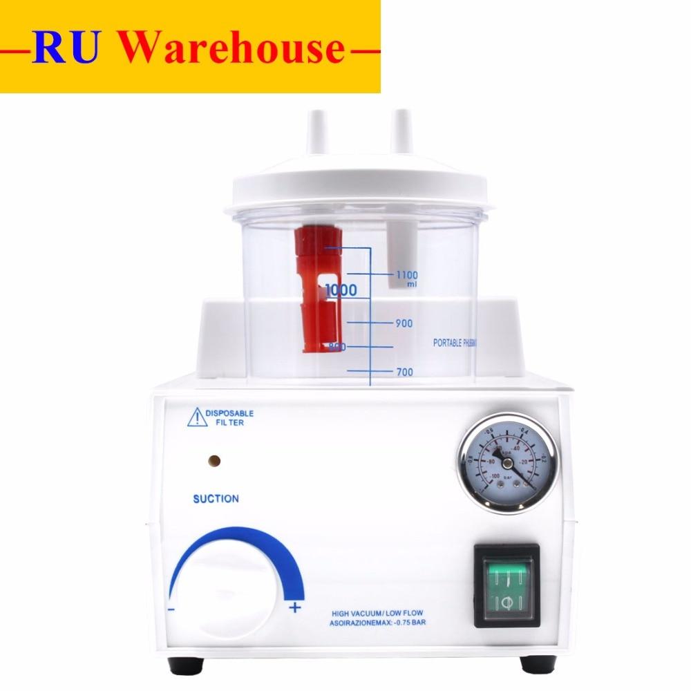 RU Warehouse Portable Dental Medical Emergency Vacuum Phlegm Suction Unit Electric FDA & CE Approved ибей ru интернет магазин рыболовную прикормку sensas