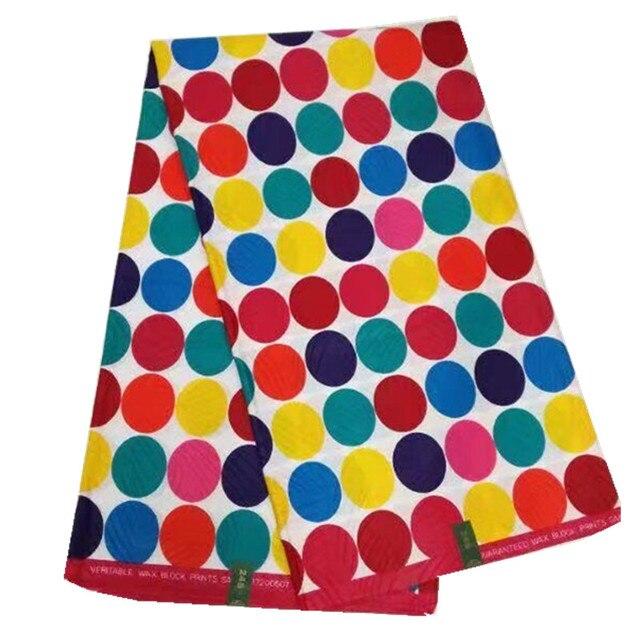 Popular Color High Quality Veritable Super Wax Java Print Fabrics