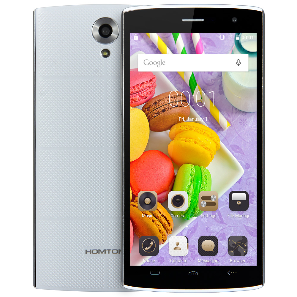 Original HOMTOM HT7 5.5 HD Mobile Phone Android 5.1 MTK6580 Quad Core 1GB RAM 8GB ROM GPS Wakeup Gesture 3G Smartphone 5MP