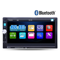 2 Din 7 Car Radio Player Audio Stereo Bluetooth MP3 MP5 FM AUX Player Multiple Languages