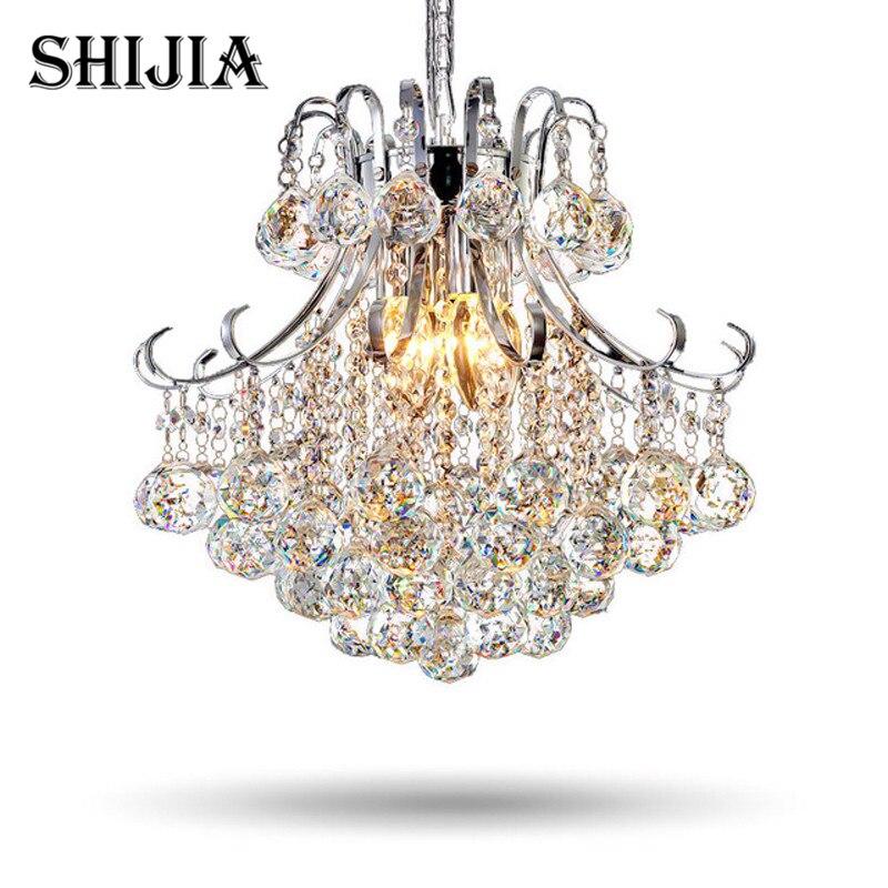 Здесь продается  Modern Luxury LED Crystal Chandelier Restaurants Bedroom Crystal Lamp Fashion Creative Living Room Lamp Aisle Crystal Light  Свет и освещение