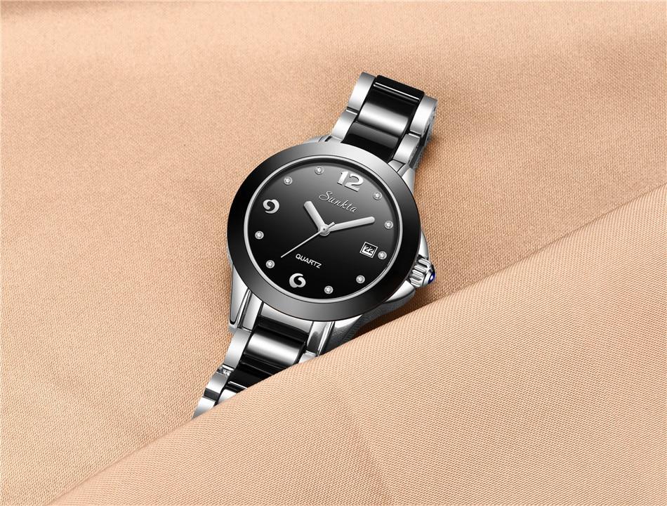 Watch Ladies Ultra-fino Relógio de Moda Relógio