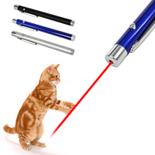 2016 Brand New Creative and Funny Pet Cat Toys LED Red Beam Laser Pointer Pen Laser Pointer light Pen Childrens Play Cat Toy