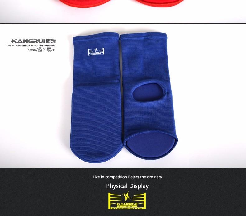 ٩(^‿^)۶Al por mayor empeine Espinilleras Karate/Sanda/taekwondo/muay ...